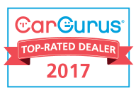 Go Drive Smart is a CarGurus Top Rated Dealer for 2017